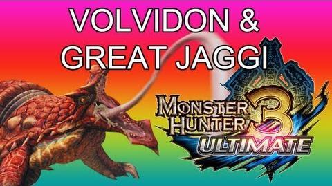 Monster Hunter 3 Ultimate - G1★ Volvidon & Great Jaggi guide ラングロトラ