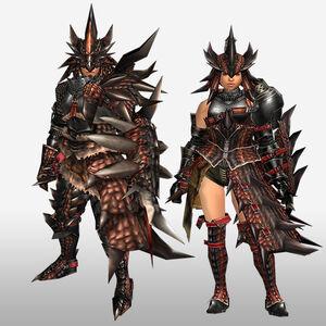 FrontierGen-Reusu G Armor (Gunner) (Front) Render