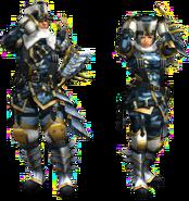 FrontierGen-Sabeji G Armor (Gunner) Render 2