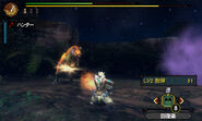 MH3U Great Wroggi vs hunter 3
