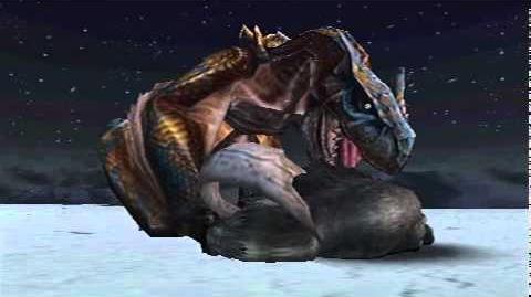 Monster Hunter Freedom Unite - Raging Tigrex (Tigrex intro)