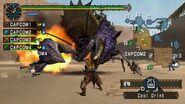 Monster hunter freedom unite screen