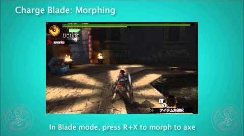 MH4G MH4U Charge Blade Tutorial