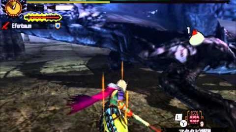 【MH4G】G★3 リオレウス希少種 - 太刀で翼打撃 - 練習中 -