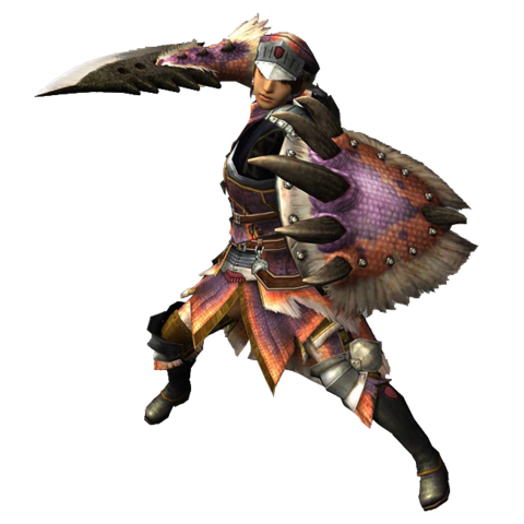 File:Sword and shield, monster hunter tri.png