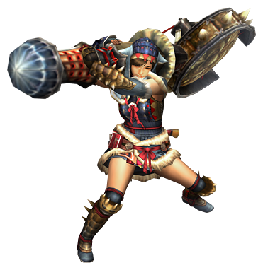 File:MHP3-Hunting Horn Equipment Render 001.png
