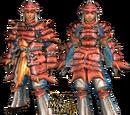 MHFU: G Rank Blademaster Armors