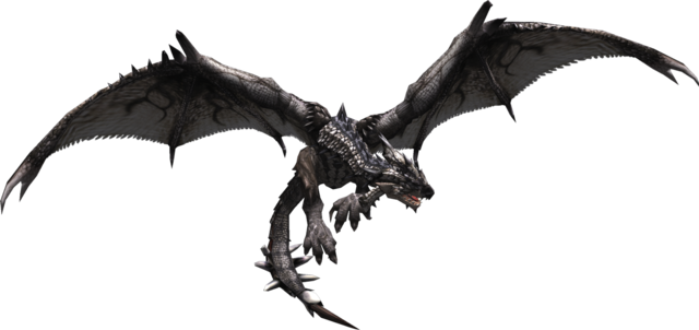 File:MHF1-Silver Rathalos Render 001.png