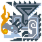 MHP3-Silver Rathalos Icon