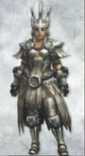 MH3U Selene Armor (Blade)