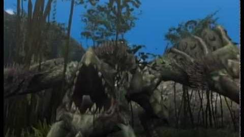 Monster Hunter 2 (Dos) - Rathian intro