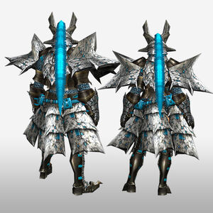 FrontierGen-Basaru G Armor (Blademaster) (Back) Render