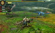 MH4U-Yian Kut-Ku and Velocidrome Screenshot 001