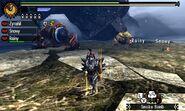 MH4U-Zinogre and Furious Rajang Screenshot 001