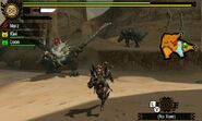 MH4U-Black Diablos and White Monoblos Screenshot 001