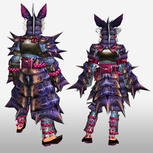 FrontierGen-Garuga G Armor (Blademaster) (Back) Render