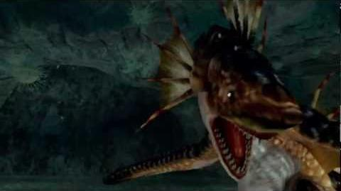 """Monster Hunter Freedom -- """"The Ancient Piscine"""" (Plesioth Intro)"""