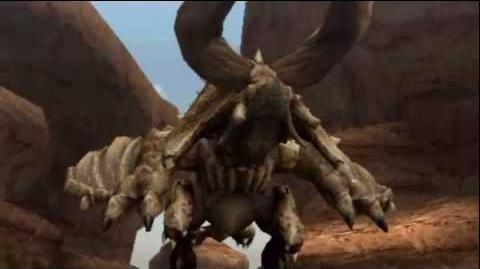 """Monster Hunter Freedom Unite -- """"Desert Tyrant"""" (Diablos Intro)"""