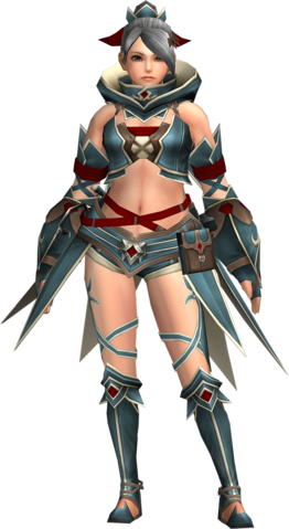File:FrontierGen-Gania Armor (Female) (Both) (Front) Render 002.png