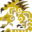 File:MH10th-Gold Rathian Icon.png