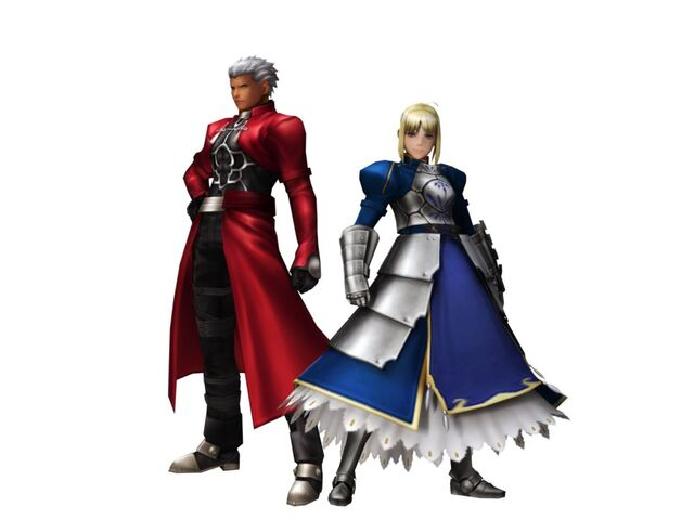 File:FrontierGen-Akahara Reisou Armor (Male) and Knight-King Armor (Female) (Both) Render 2.jpg