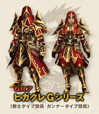 MHFG Higakure Armor Small