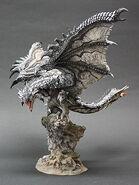 Capcom Figure Builder Creator's Model Silver Rathalos 001