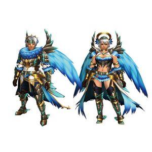 FrontierGen-Shatemu Armor (Both) Render