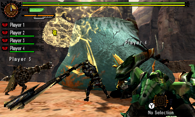 MH4U-Tigerstripe Zamtrios Screenshot 003