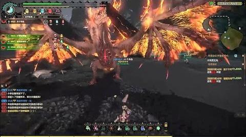 Monster Hunter Online - New Monster Desolation Dragon Doomsday Catastrophe Gameplay