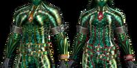 Plesioth Z Armor (Blademaster) (MHFU)
