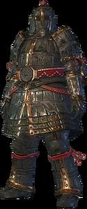 MHO-Lone Shen Gaoren Armor (Blademaster) (Male) Render 001