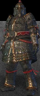 File:MHO-Lone Shen Gaoren Armor (Blademaster) (Male) Render 001.png