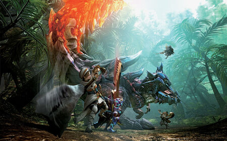 Box Art-MHGen N3DS Textless