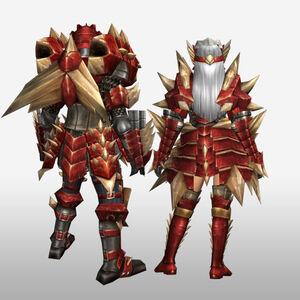 FrontierGen-Odiba Armor (Blademaster) (Back) Render