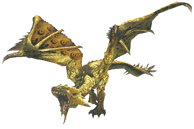 File:FrontierGen-HC Gold Rathian Render 001 (Edited).png