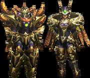 MH4U-Seltas Z Armor (Blademaster) Render 001