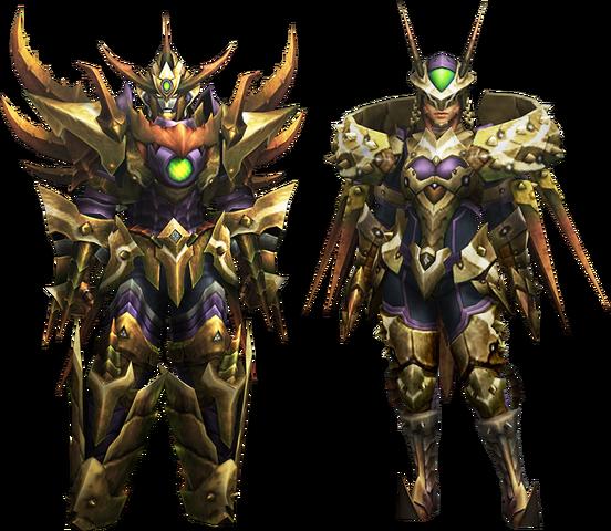 File:MH4U-Seltas Z Armor (Blademaster) Render 001.png