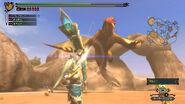 Sand Barioth vs Bow
