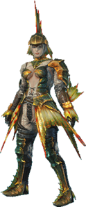 MHO-Plesioth Armor (Gunner) (Female) Render 001