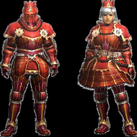 File:MH4U-Kaiser Armor (Blademaster) Render 001.png