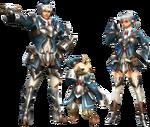 FrontierGen-Bande Armor (Both) Render 001