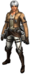 FrontierGen-Survey Corps Armor (Male) (Both) (Front) Render