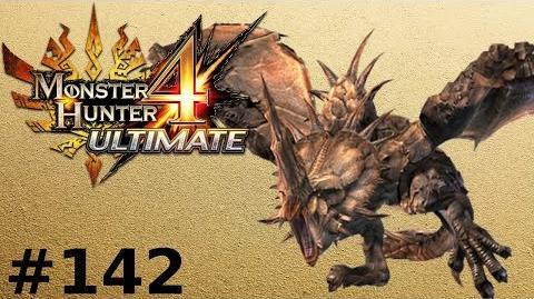 Monster Hunter 4 Ultimate (Offline) -- Part 142 Monoblos - Crimson Horn