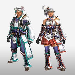 FrontierGen-Kanza Armor (Gunner) (Front) Render