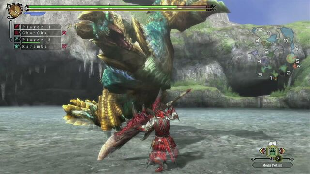 File:MH3U Zinogre vs hunter 04.jpg