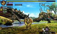 MH4U-Deviljho and Black Gravios Screenshot 001