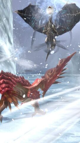 File:MHSP-Kushala Daora and Pink Rathian Screenshot 001.jpg