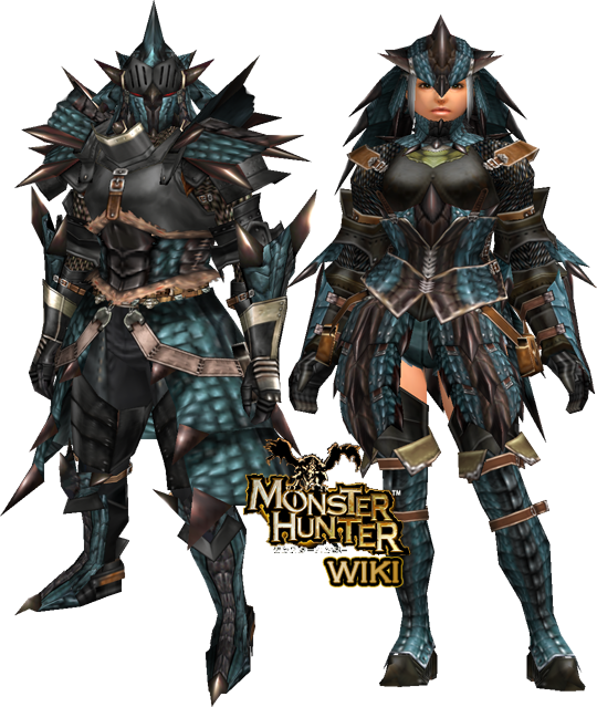 Rathalos Soul Armor (Blademaster) (MHFU) | Monster Hunter ...