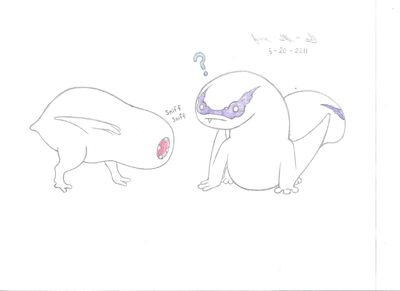 Chibi Khezu and Gigginox 001